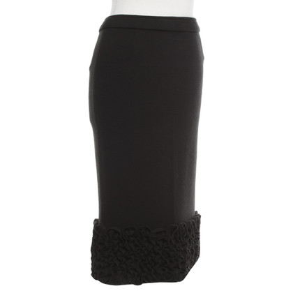 D&G Knitted skirt in black