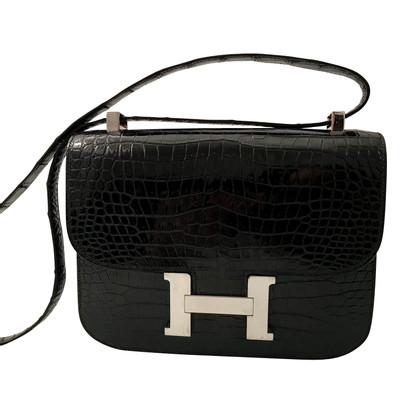 "Hermès ""Constance Bag Crocodylus Porosus"""