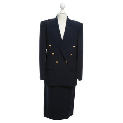 Hermès Costume in dark blue