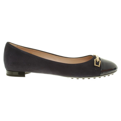 Tod's Ballerinas in dark blue