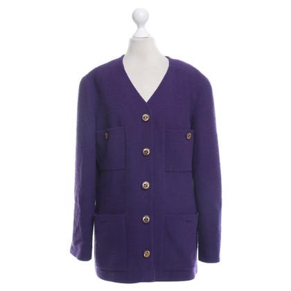Chanel Blazer in purple