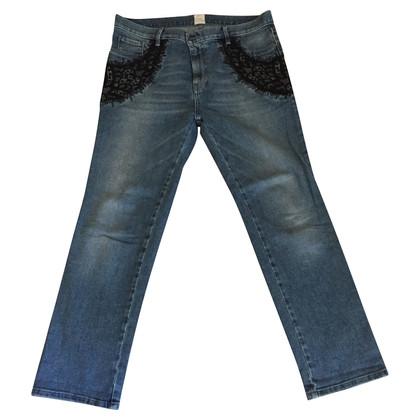 Pinko Jeans con elemento di pizzo