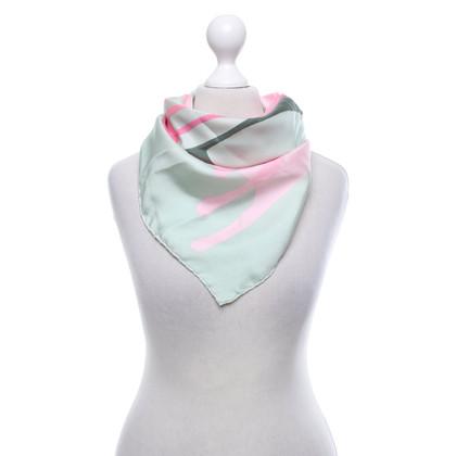 Christian Dior Silk scarf with logo print