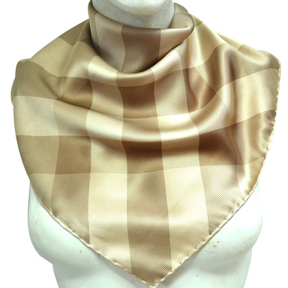 Burberry Silk scarf with nova check pattern