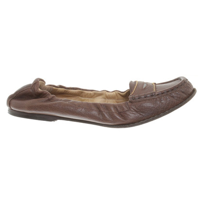 Brunello Cucinelli Loafer in dark brown