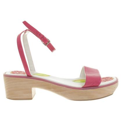 Jil Sander Sandals in Pink