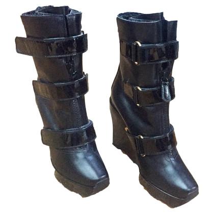 Louis Vuitton Leren laarzen