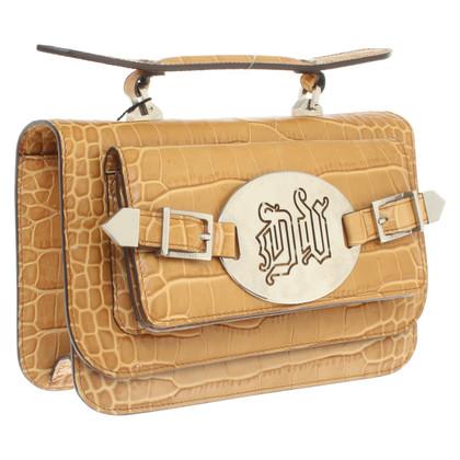 Versace Handbag with reptile embossing