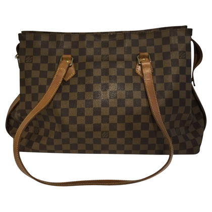 "Louis Vuitton ""Columbine Damier Ebene Canvas"""