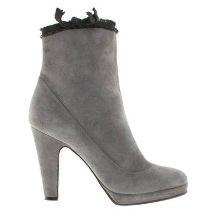 Marc by Marc Jacobs Ankle boots in light gray