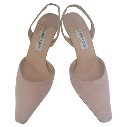 Jimmy Choo Light  pink (nude) sling back heels
