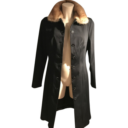 Dolce & Gabbana Coat with fur collar