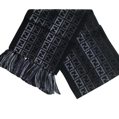Fendi Echarpe en laine / soie