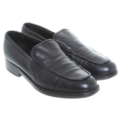 Jil Sander Loafer in Schwarz