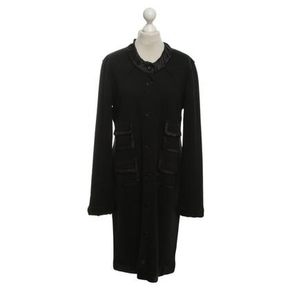 Dolce & Gabbana Vestito nero con bottoni