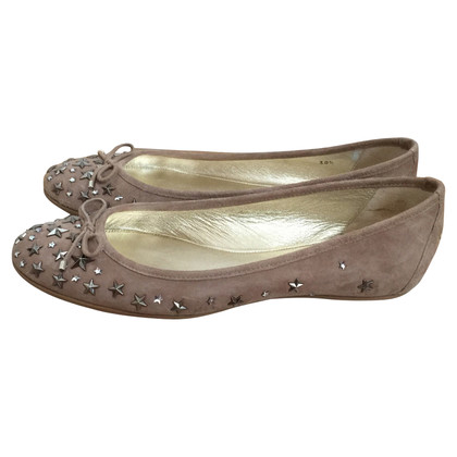 Jimmy Choo Ballerinas with studs trim