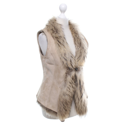 Vent Couvert Vest with fur