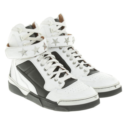 Givenchy Sneakers alte in bianco / nero