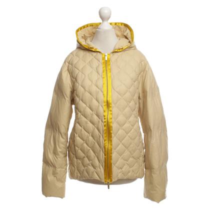 René Lezard Down jacket in beige