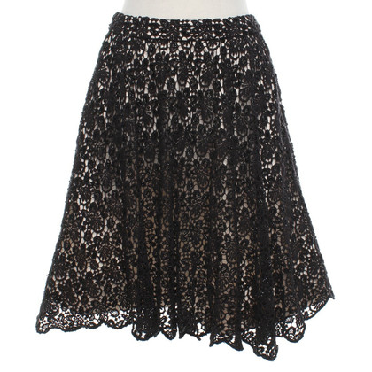 Alice + Olivia skirt with sequin trim