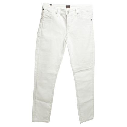 Citizens of Humanity 7/8 Jeans in white