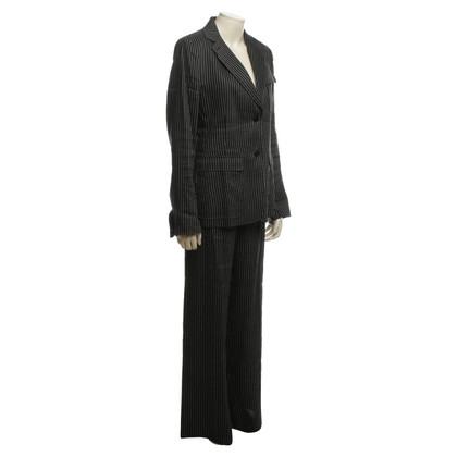 Donna Karan Suit with stripes