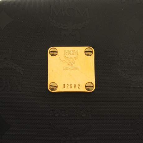 Freies Verschiffen Fälschung MCM Umhängetasche in Schwarz Schwarz Angebote Online-Verkauf Neue Angebote ecd6eN8kzG