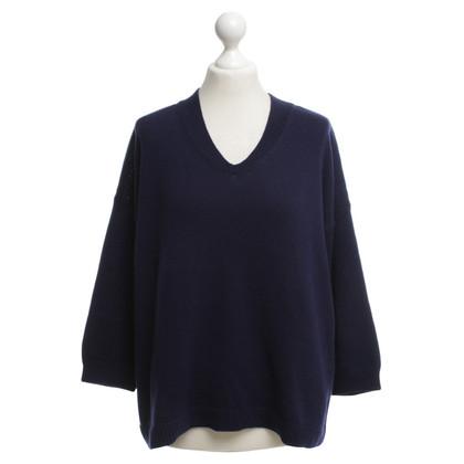 Jil Sander maglione maglia in viola