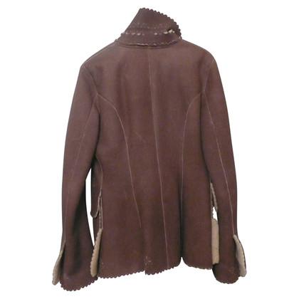 Ermanno Scervino Jacke aus Schafsfell