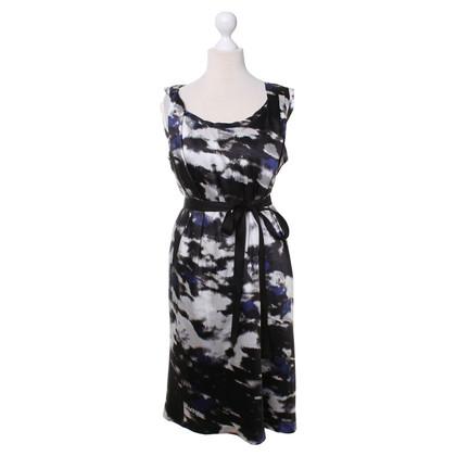 DKNY Patterned silk dress