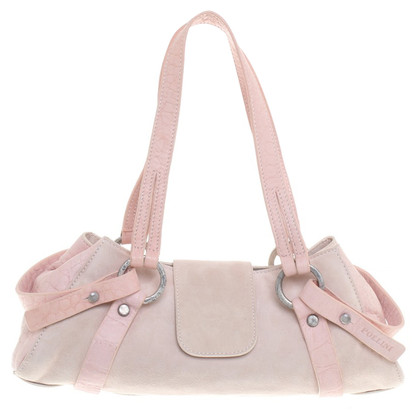 Pollini Handbag in beige / rose