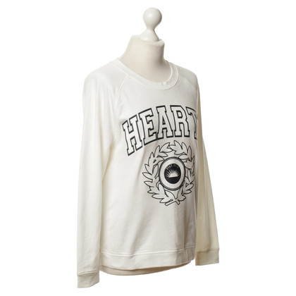Claudie Pierlot Sweatshirt in Off-White