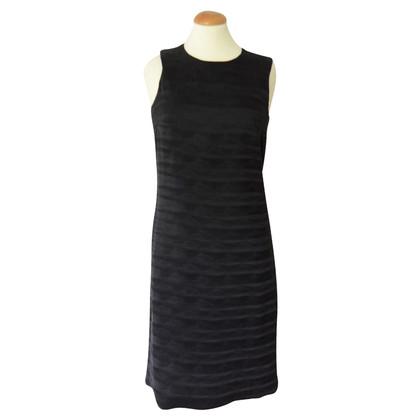 Prada black dress with paisley print