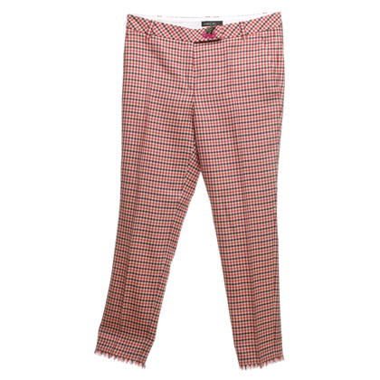 Marc Cain trousers with checked pattern