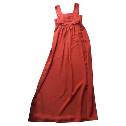 Hoss Intropia Vestito di seta rossa