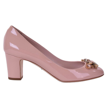 "Dolce & Gabbana Lakleer pumps ""Vally"""