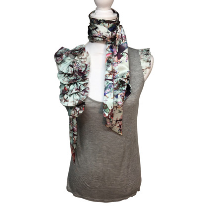 Ted Baker Top with scarf and cardigan