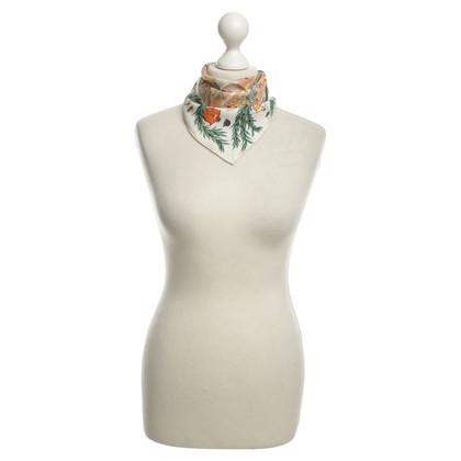 Hermès Tuch mit ,,Chantilly''-Muster
