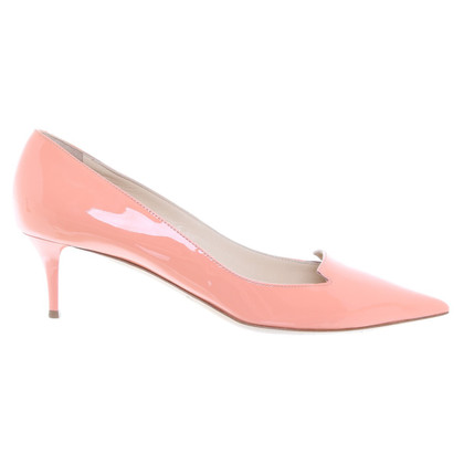 Jimmy Choo pumps in apricot