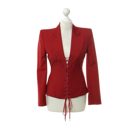 Alexander McQueen Blazer in red