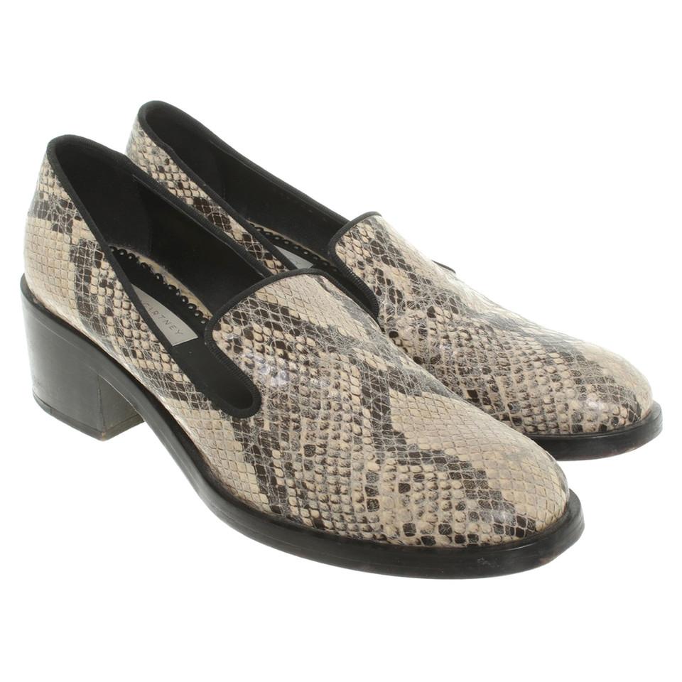 Stella McCartney Pantofola in ottica di rettili