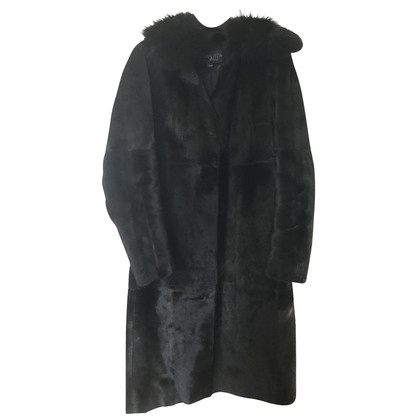 Giambattista Valli Fur coat with fur collar