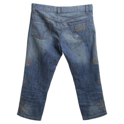 D&G Jeans mit Waschung