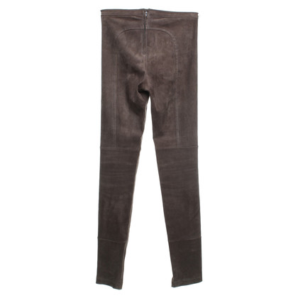 Utzon trousers suede