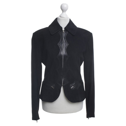 Alaïa Leather jacket in black