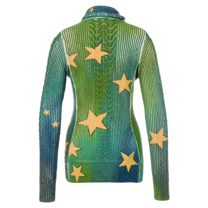 Jet Set Cashmere Star Print Cardigan Jacket