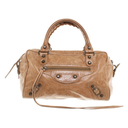 "Balenciaga ""Classic city Small"" in light brown"