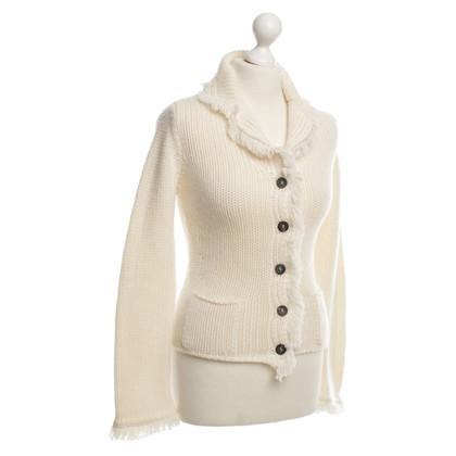 Iris von Arnim Knit Jacket with fringe