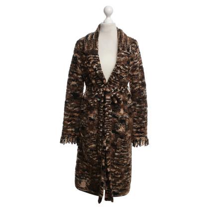 Bogner cappotto di maglia con motivo