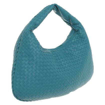 "Bottega Veneta ""Veneta Bag Large"" in Petrol"